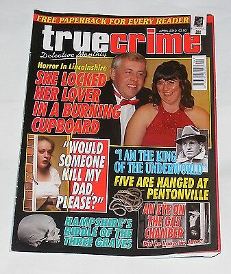 True Crime April 2012 - John Taylor/guy Georges/julie Dixon/jimmy Lee Gray