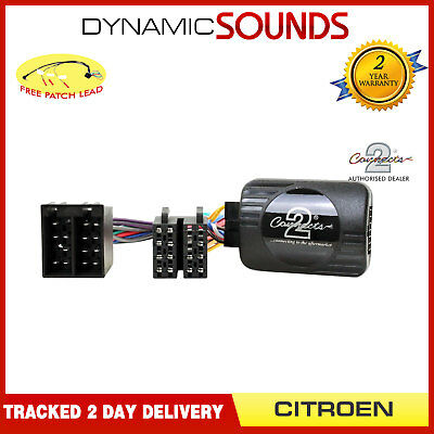 DS-CT002 Steering Control Interface Stalk Adaptor For CITROEN C3 2002-2005