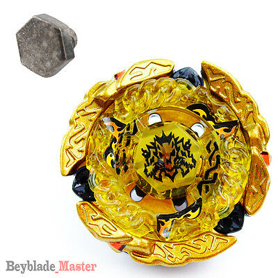 Beyblade Fusion Masters BB99 Hades / Hell Kerbecs+Heavy weighs METAL Face BOLT