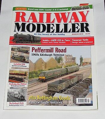Railway Modeller Volume 61 Number 713 March 2010 - Peffermill Road