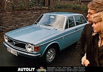 1973 Volvo 142 & 144 Automobile Photo Poster zc4392-7WW7FG