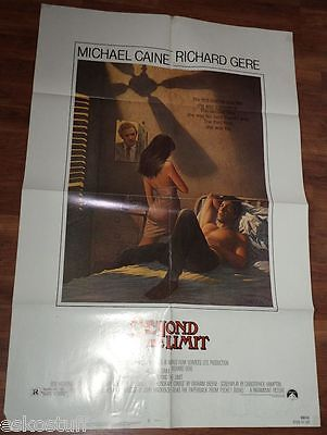 Beyond The Limit - Michael Caine/Richard Gere 27 x 41 Large Movie Poster See!