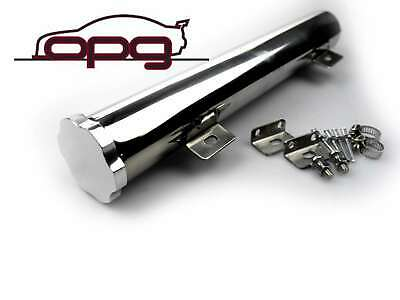 Polished Alloy Radiator Overflow Recovery Tube / Tank Ford Xa Xb Gt