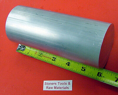 "2-1/2"" ALUMINUM ROUND 6061 T6511 SOLID ROD 6"" long Lathe Ber Stock 2.50"""