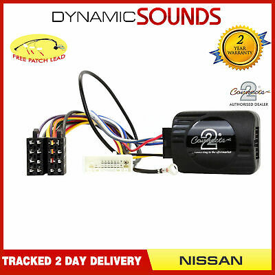 DS-NS001 Steering Control Adaptor + FREE Patch Lead for Nissan Qashqai 2007>