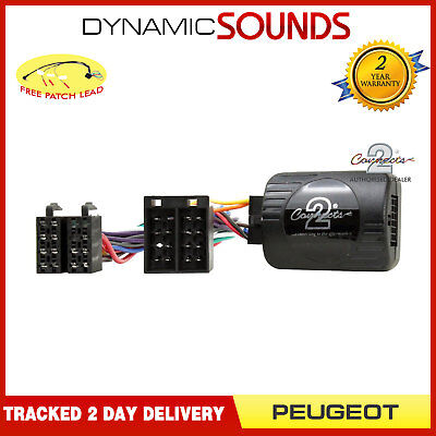 DS-PG006 Steering Control Adaptor with FREE Patch Lead For Peugeot Partner 2002>