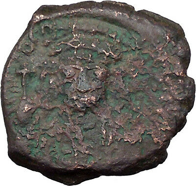 TIBERIUS II CONSTANTINE facing  578AD Ancient Byzantine Authentic Coin i32109