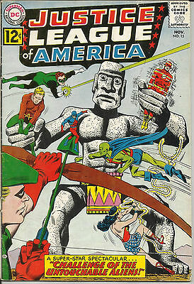 Justice League Of America #15 DC Comic 1962 VG+