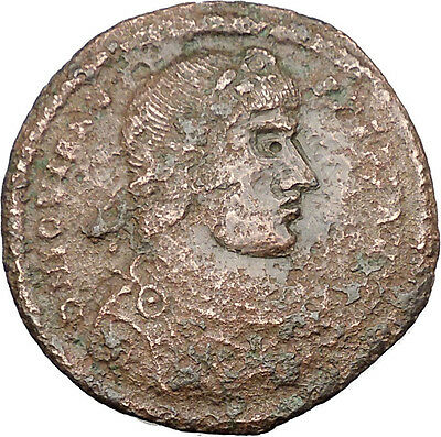 Jovian w Victory 363AD Very Rare HUGE  AE1  Authentic Ancient Roman i32132