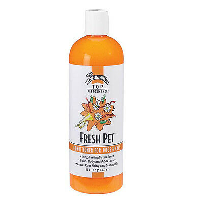 Top Quality Professional FRESH PET Scent Conditioner for Dogs & Cats - No Mats !