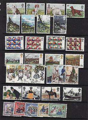 1971-1979 Used Commemoratives In Years
