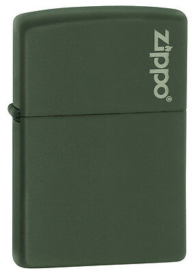 Zippo Lighter Classic Matte Green 221ZL Personalised Laser Engraved Free