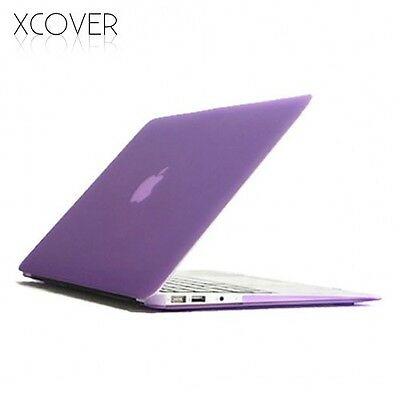 "Cover CRYSTAL CASE per Apple MacBook Air 11"" VIOLA custodia slim rigida sottile"
