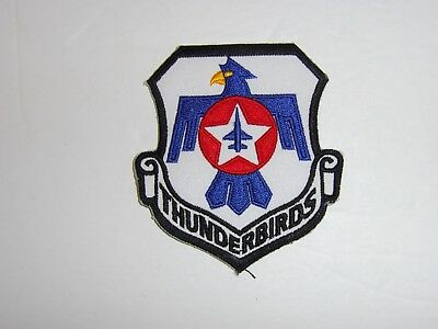 b2331 USAF Thunderbirds  Demonstration Team patch shield scroll Air Force IR19C