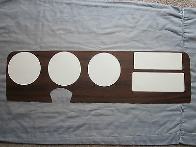 1970 and 72 GTO dash wood grain trim for models with an original carrier