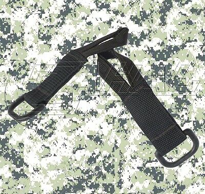 Zahal - Pair of Tactical Rifle Sling Adapters - Single / Double Point (Black)