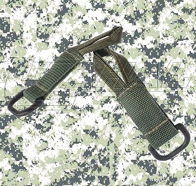 Zahal - Pair of Tactical Rifle Sling Adapters - Single / Double Point (OD Green)