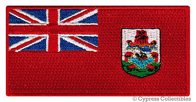 BERMUDA FLAG embroidered iron-on PATCH SOMERS ISLES EMBLEM applique