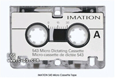 Factory Sealed Micro Cassettes Imation 543 10 each
