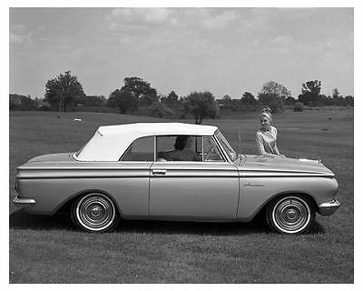 1962 Rambler American Factory Photo uc3152-3KWCUC