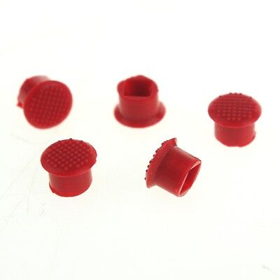 LOT OF 5 Soft TrackPoint Red Stick Cap Keyboard Mouse for IBM Thinkpad T400