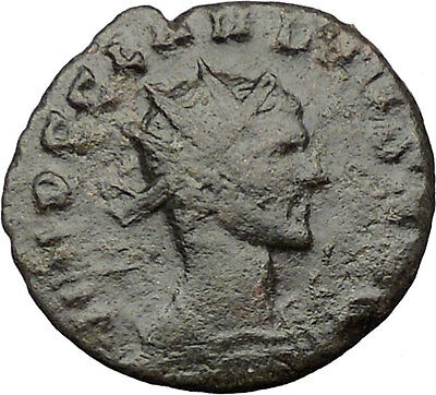 CLAUDIUS II Gothicus 268AD  Ancient Roman Coin SPES Hope Goddess i32463