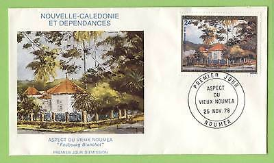 Fr. New Caledonia 1978 24f Old Noumea First Day Cover