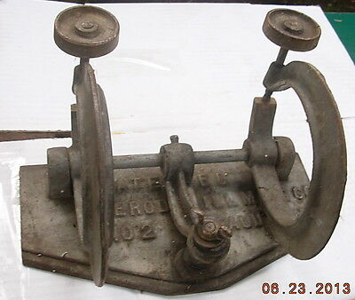 Vintage Ferodowill Skate Saw Knife C Clamp Machinist Vise Bicycle Chain Repair