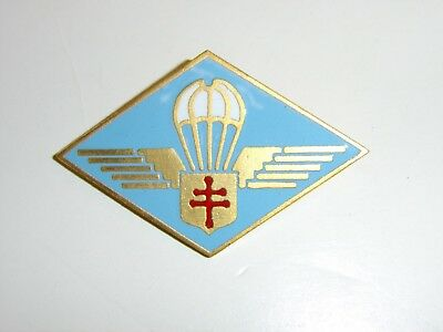 b2387 Free French Parachute Wings Airborne North Africa style