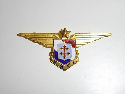 b2389 Free French Breast badge FAFL each numbered