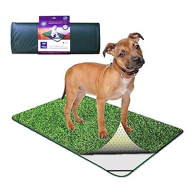 PoochPad traveler Indoor Turf Dog Potty roll pet bathroom system synthetic grass
