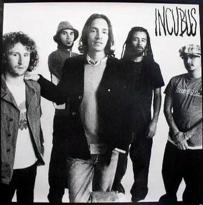 INCUBUS 2004 crow left BIG promotional B&W poster ~~MINT cond NEW old stock~~!!