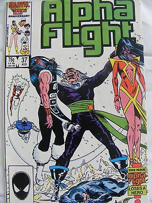 Alpha Flight # 37 Aug 86 Marvel Comics