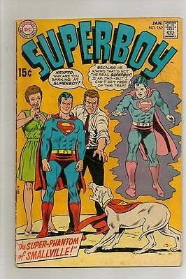 Superboy # 162 Jan 70 Fn  Free Postage Cents Early Bronze Age