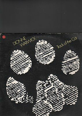 DIONNE WARWICK - track of the cat LP