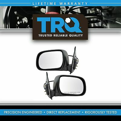 Power Textured Side Mirror Pair Set for 05-11 Toyota Tacoma Pickup Truck