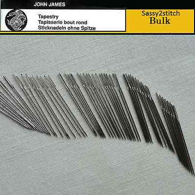 Bulk JOHN JAMES #26 Tapestry Needles