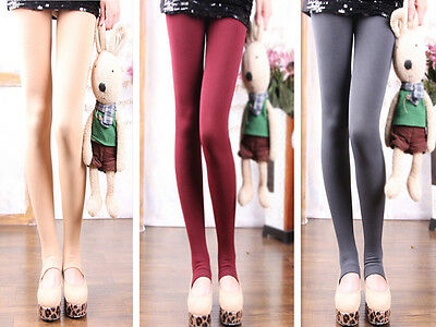AA lady girl cool Thick Warm Pantyhose Footless Stirrup Tights Stocking