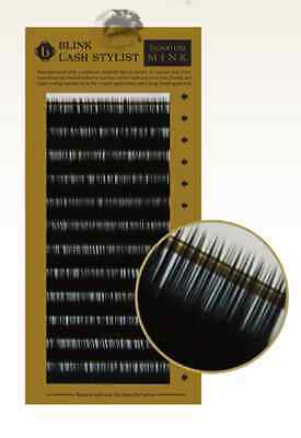 Blink Mink B Curl .15mm Sizes From 8-15mm Lashes Eyelash Extension