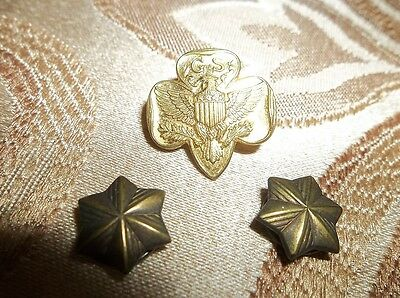 Girls Scouts: Vintage Pins -  COLLECTION OF 3 PINS 130502044