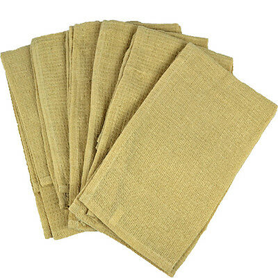 12 X Tea Towels Dish Cloth 100% Cotton Kitchen Thick Towel Cleaning Absorbent