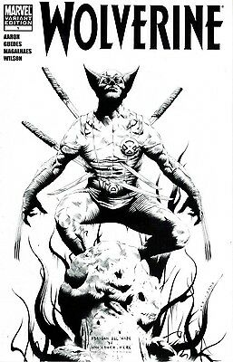 Wolverine #1 Jae Lee Black and White Sketch Variant