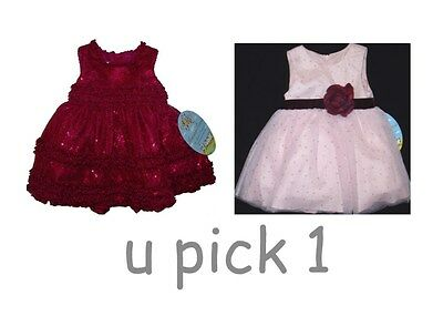 Girls Dress Christmas Party Wedding Special Occasion Xmas Holidays Baby