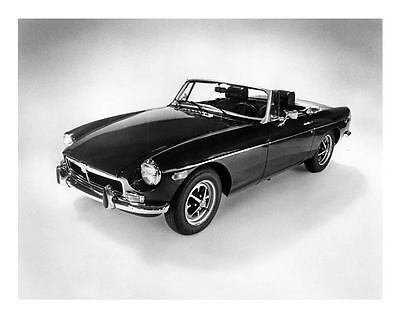 1973 MG MGB Convertible Automobile Photo Poster zc6302-DNWMHS
