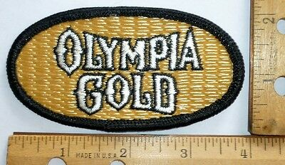 Olympia Gold,   Cloth Beer Patch