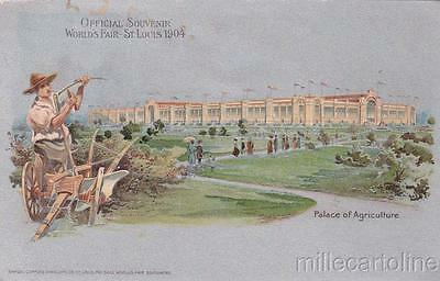 * ST.LOUIS WORLD'S FAIR - Louisiana Purchase Exposition 1904 - Agriculture's Pa.