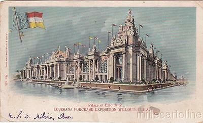 * ST.LOUIS WORLD'S FAIR - Louisiana Purchase Exposition 1904 - Electricity's Pa.