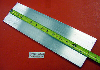 "1/4"" X 4"" ALUMINUM 6061 T6511 SOLID FLAT BAR 14"" long New .25"" Plate Mill Stock"
