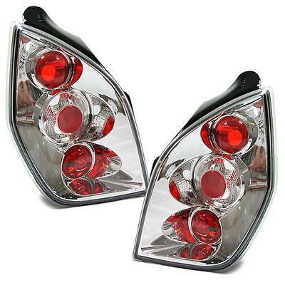 Citroen C2 2003-2010 Chrome Lexus Style Rear Tail Lights Lamps Pair