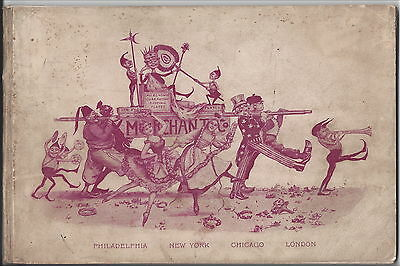 Scarce Pre-World's Columbian Exposition Adv Booklet, Brownies (Merchant & Co.)